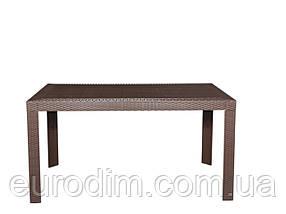 Стол OW-T209S прямоугольный коричневый, фото 2