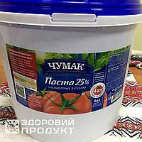 Томатная паста 25% с солью, ведро (5 кг.)