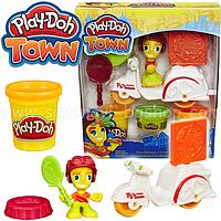 Плей-До игровой набор пластилина Город доставка пиццы Play-Doh