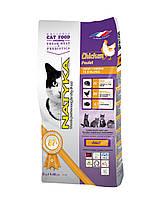 Natyka Cat Adult Chicken (Натика Кет Эдалт Чикен) - корм с курицей для взрослых кошек и котов 2 кг