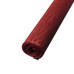 Гофрированная (креп) бумага для творчества, коричневая