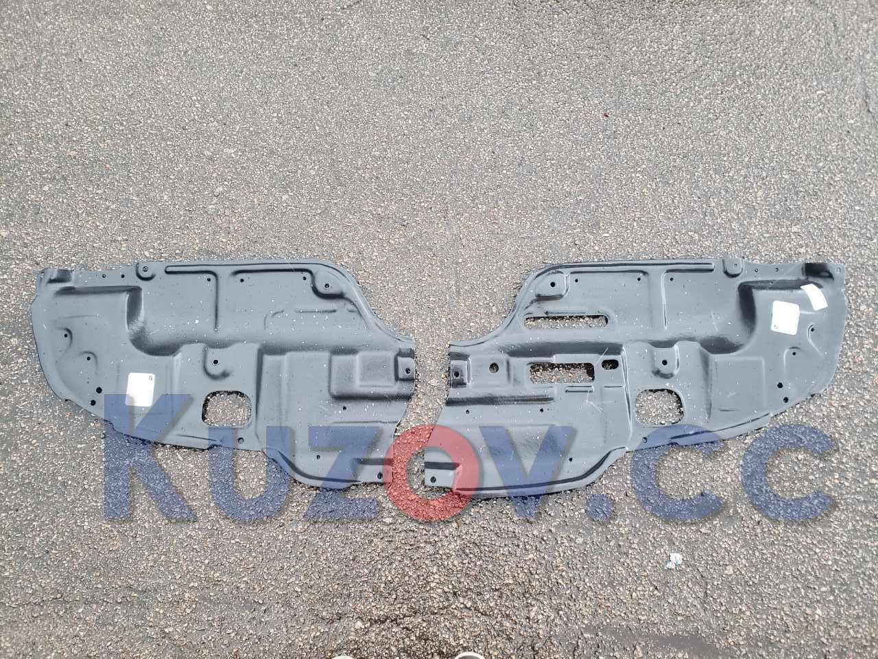Защита двигателя пластиковая Toyota Camry V30 02-06, левая (FPS) 5144233040