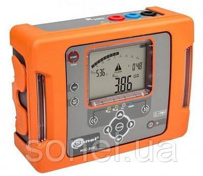 Мегаомметр, сертифікований вимірювач параметрів електроізоляції (мегаомметр) MIC-5001UA