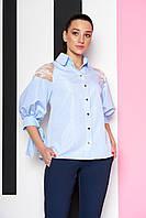 Стильная женская блуза А-148 размеры 44-54