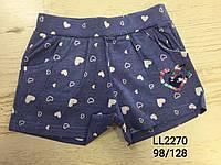 Трикотажні шорти для дівчаток Sincere 98-128 p.p.