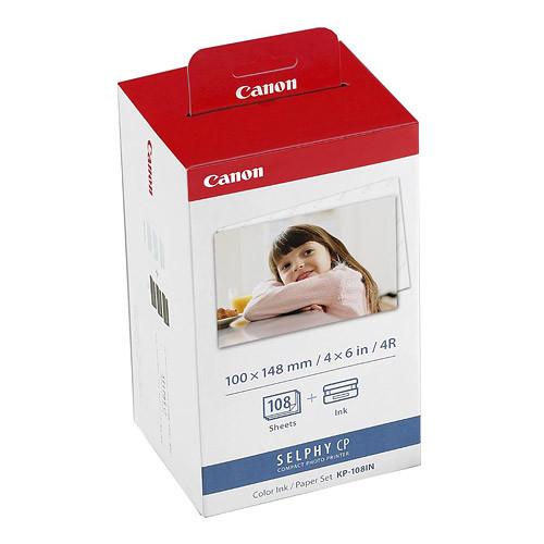 Canon KP-108IN фотопапір з картриджем (108 відбитків)