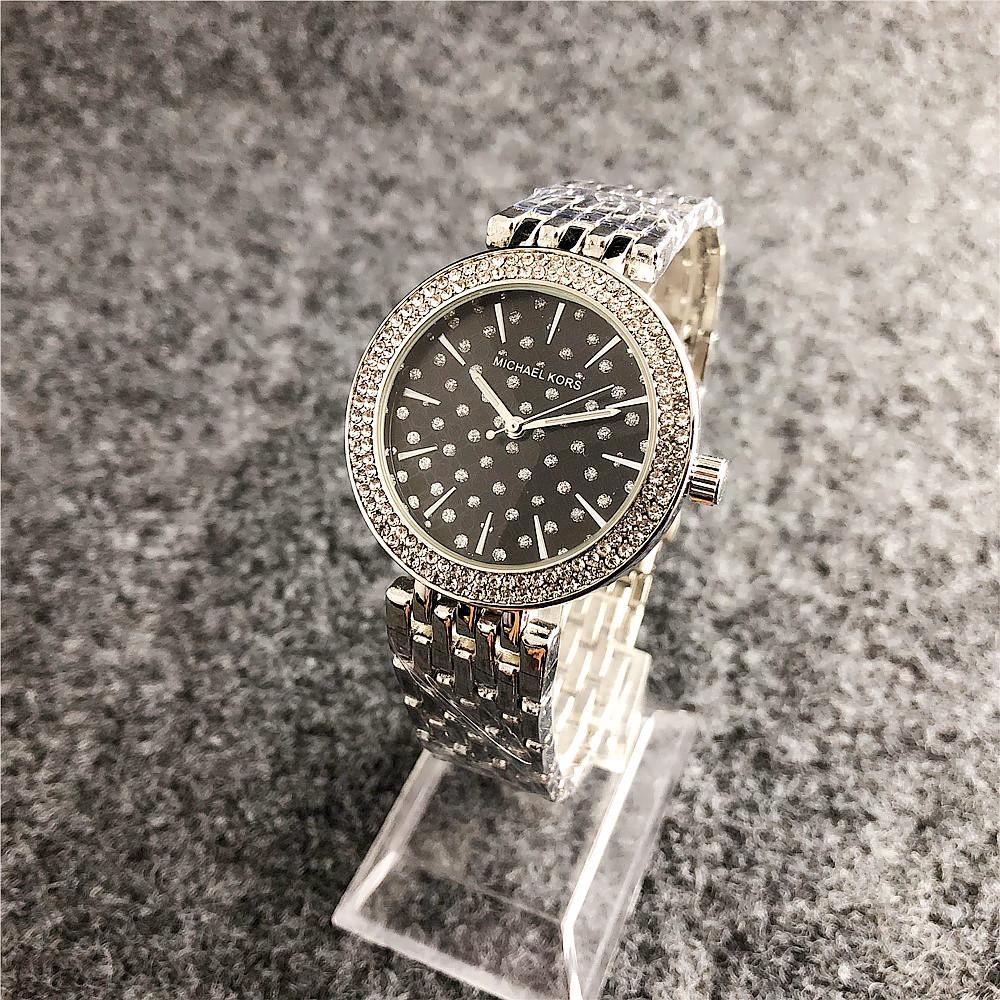Наручные женские часы Michael Kors 6056 M Silver-Black