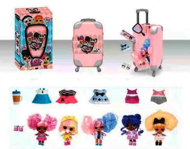 Кукла LOL в чемодане 881