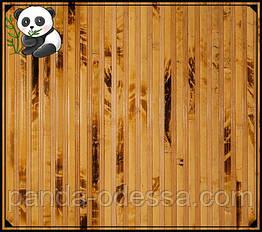 """Бамбукові шпалери """"Черепаха"""" комбінована mini, 0,9 м, ширина планки 12+8 мм / Бамбукові шпалери"""