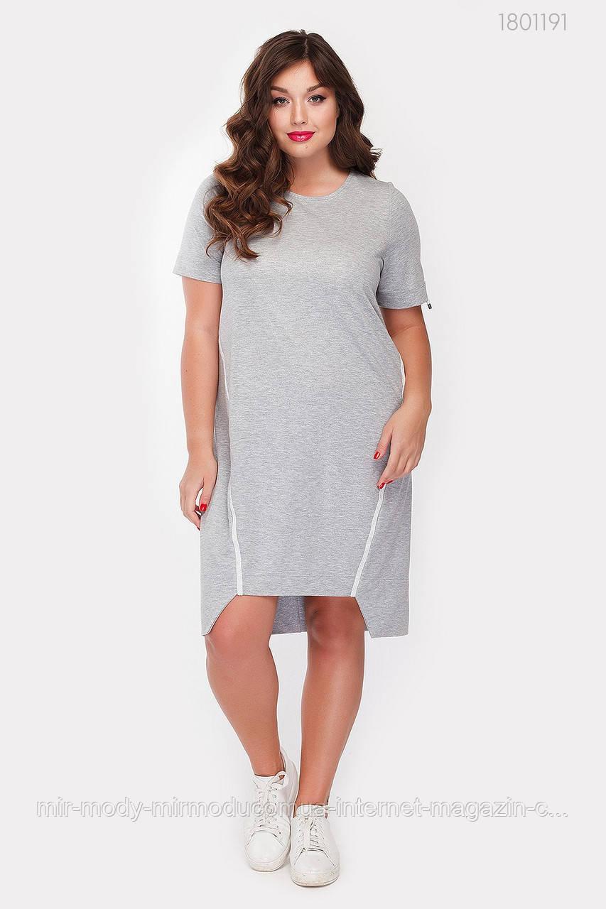 Платье Натал (серый)(3 цвета) с  48 по 54 размер (рин)