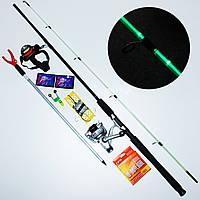 """Спиннинг Карповый"""" набор для ночной рыбалки"""" (спиннинг с подсветкой), фото 1"""