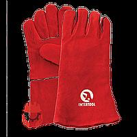 Перчатки строительные Intertool SP-0156