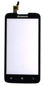 Тачскрин сенсор Lenovo A680 черный без камеры