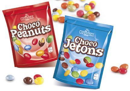 Шоколадные драже Candymex Choco Jetons\Peanuts 250 г