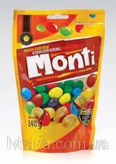Драже арахис в шоколаде Monti   Польша 240г
