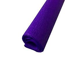 Гофрированная (креп) бумага для творчества, фиолетовая