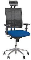 Кресло для персонала   E-MOTION R HR ST AL32 c «Синхромеханизмом»