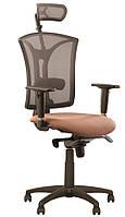 Кресло для персонала PILOT R HR net ES PL70 c «Синхромеханизмом»
