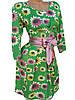 Обворожительные женские платья с пояском (в расцветках 44,46), фото 2