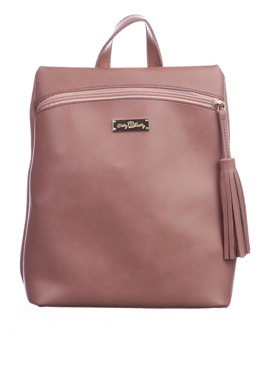 Рюкзак міський жіночий з екошкіри Betty Pretty пудра 922329