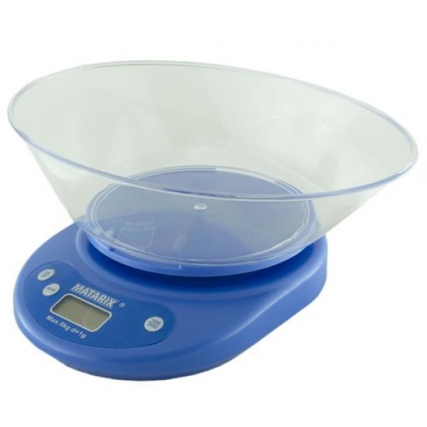 Весы кухонные MATRIX MX-401 5кг электронные весы с чашей удобные весы для кухни