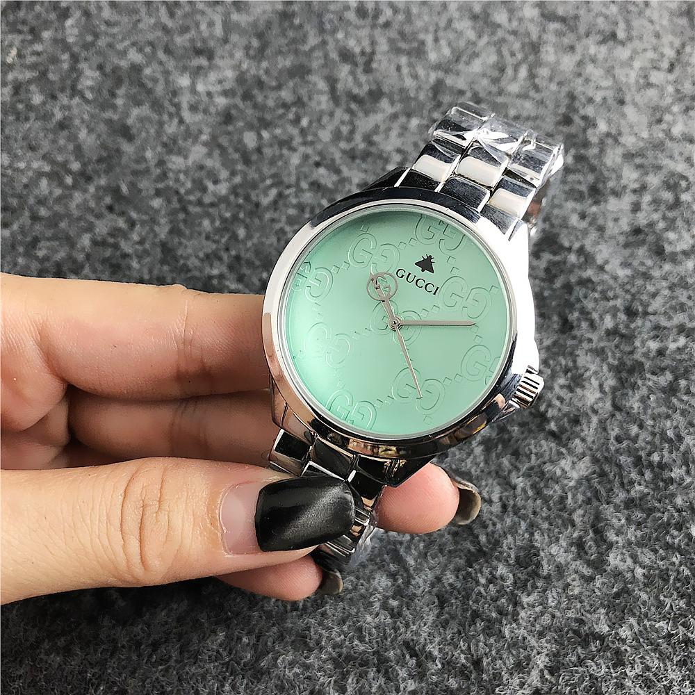 3b40236b Наручные женские часы Gucci 7161 GFS Silver Green: продажа, цена в ...
