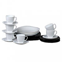 Столовый сервиз Carine Black/White D2382