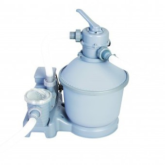 Песочная фильтрационная установка Flow Clear производительностью 5678 литров/час (модель 58199)
