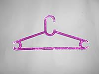 Тремпель Buble розовый вешалка для одежды