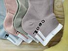 Носки женские средние деми UYUT women cotton socks хлопок 36-41р.бесшовные с двойной пяткой ассорти НЖД-021256, фото 6