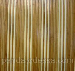 """В пределах отрезка 1 м.п / Бамбуковые обои """"Полосатые 6+1"""" п,8мм, высота рулона 0,9 м"""