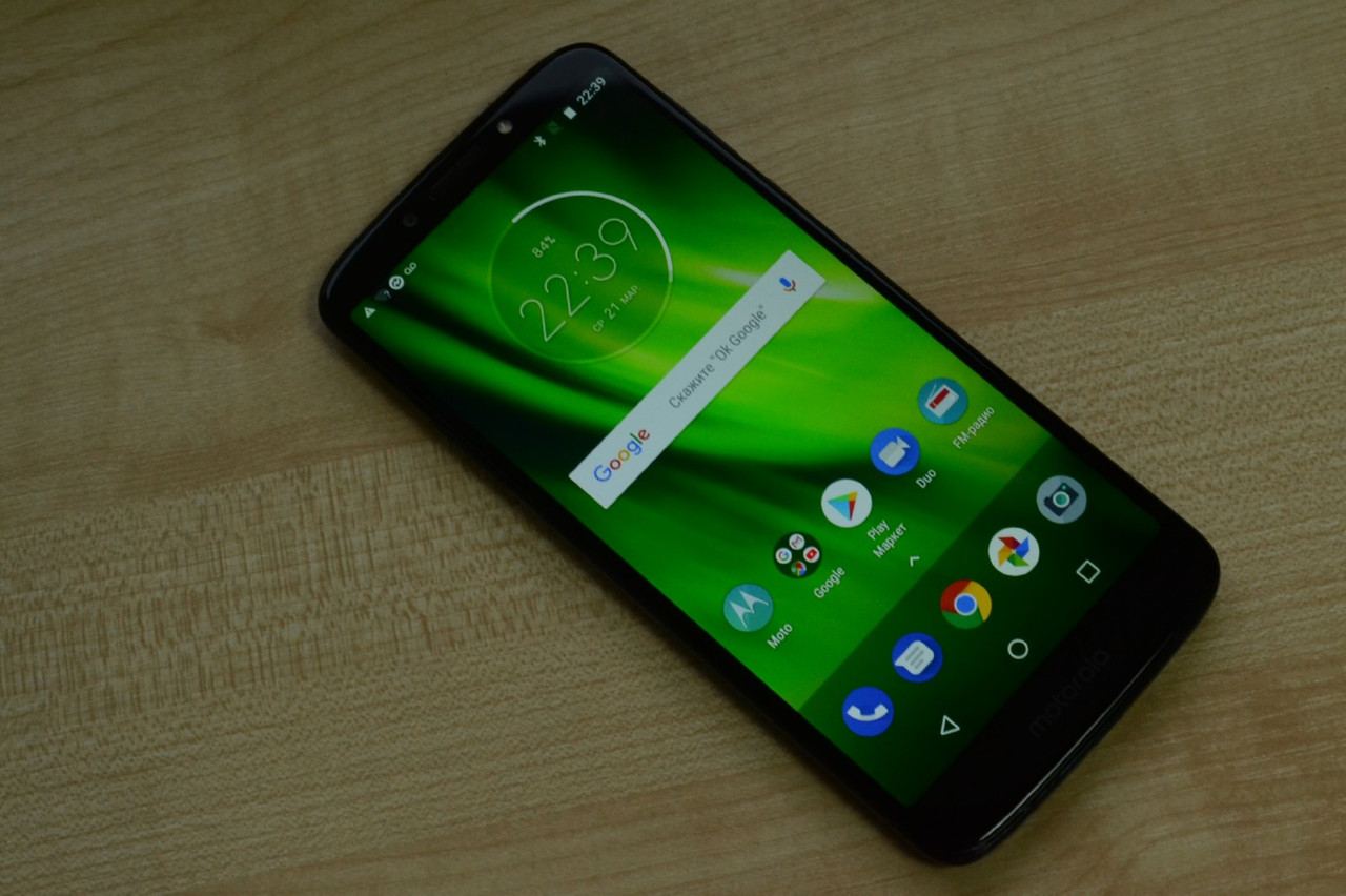 Motorola Moto G6 Play (6rd gen) XT1922 16Gb Black Оригинал!