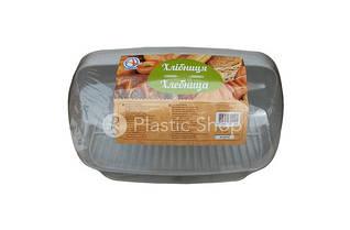 Хлебница пластиковая (белая)