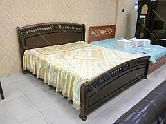 Кровать  Доминика из массива ольхи
