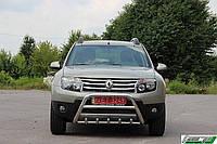Защита переднего бампера (кенгурятник) Renault Dokker 2012+