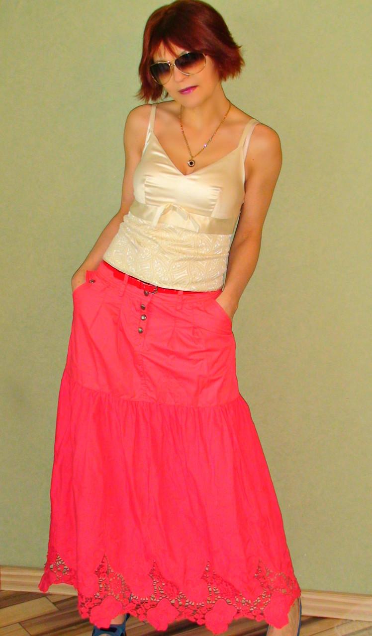 bbd6c4c0512da49 44-52 Длинная юбка в пол оптом и в розницу Ylanni 8034