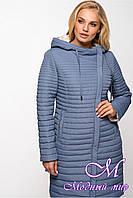 Удлиненная куртка весна осень большой размер (р. 46-64) арт. Лори