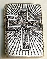 Зажигалка Zippo 29667 Armor Celtic Cross Design