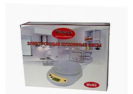 Електронні кухонні ваги WIMPEX WX 02 5 кг з чашею точність зважування ваги для кухні