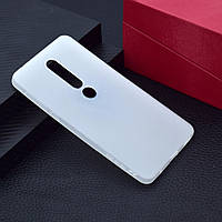 Чехол для Nokia 6.1 Plus / Nokia X6 / TA-1116 силикон Soft Touch бампер матовый