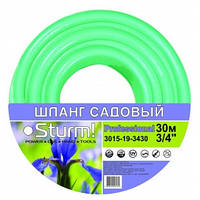 """Шланг садовий 3/4"""" 20 м Professional бірюзовий Sturm (3015-19-3420)"""