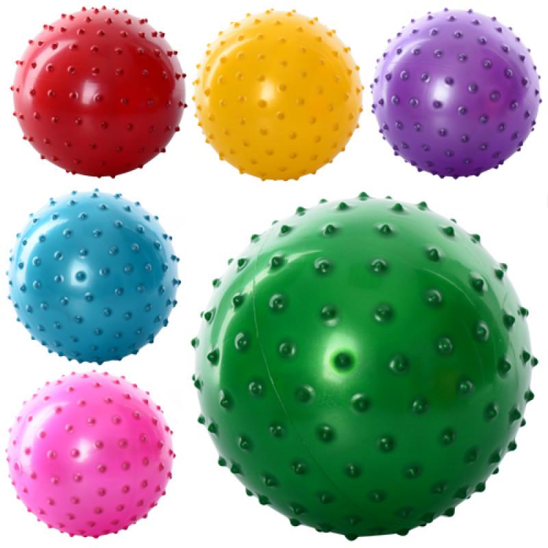 Мяч массажный 5 дюймов, ПВХ, 30г