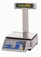Весы с чекопечатью DIGI SM300 P, б/у,  печать эктикетки