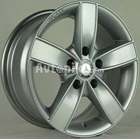 Литые диски Bison BN-261 R15 W6.5 PCD5x112 ET35 DIA66.6 (silver)