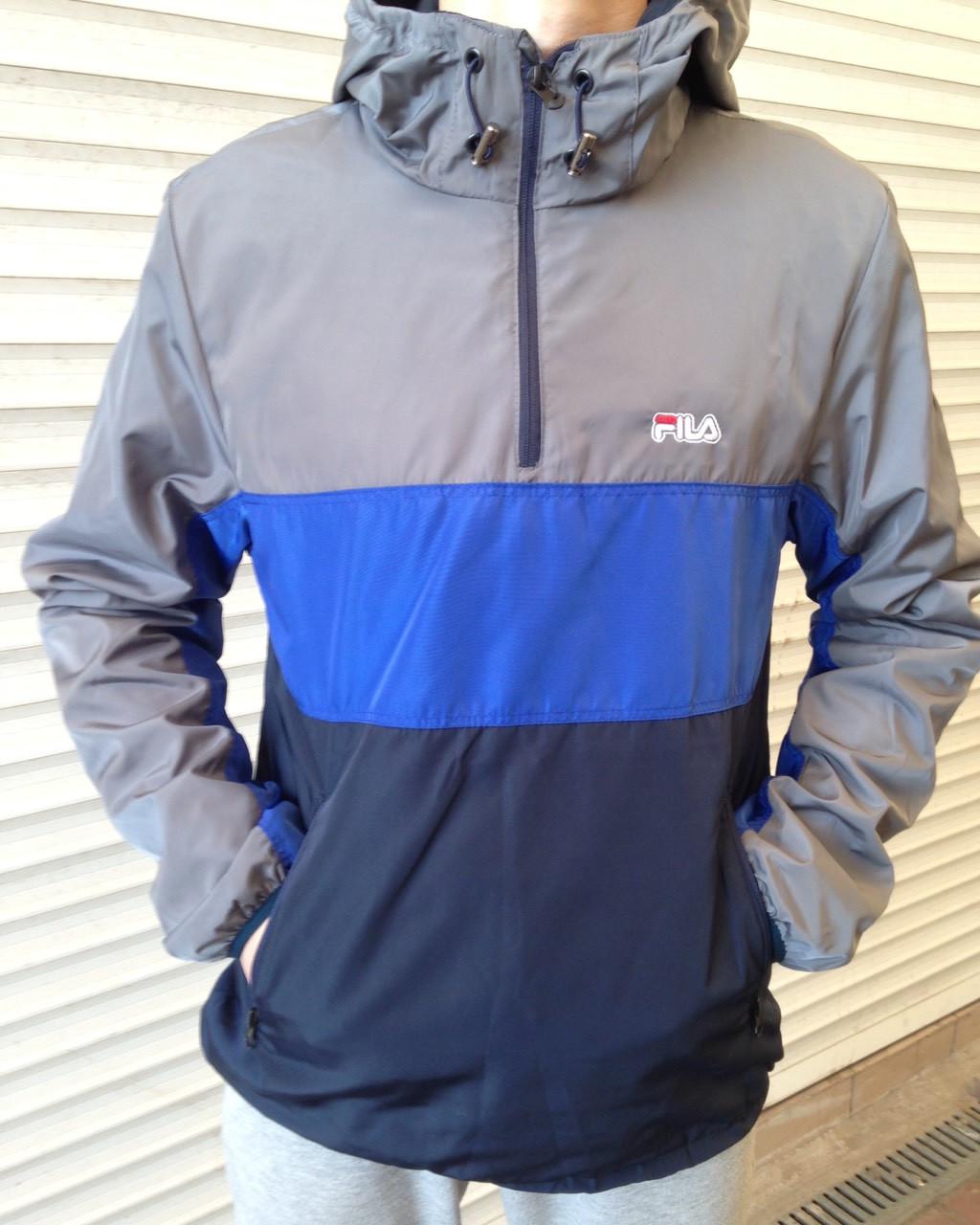 dc388f99 Спортивная куртка ветровка мужская анорак fila: продажа, цена в ...