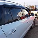Дефлекторы окон (ветровики)  Hyundai Santa Fe 2006-2012 4шт (Hic), фото 4