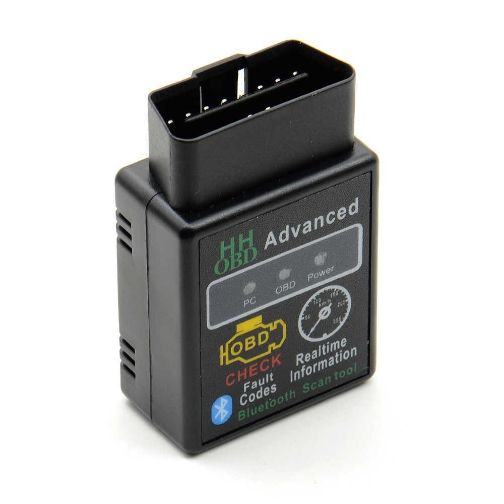 Сканер OBD ELM327 Bluetooth 1.5 v OBDII діагностика машини мультімарочний універсальний