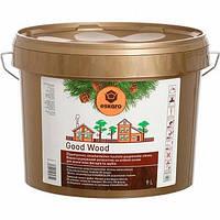 Eskaro Good Wood 9л Водоразбавляемый антисептик для деревянных фасадов и срубов
