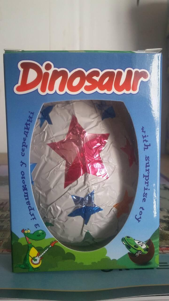 Шоколадное яйцо Dinosaur 50г