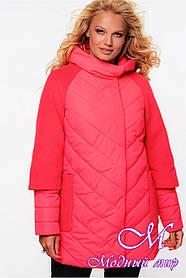 Женская стильная куртка осень весна (р. 42-54) арт. Фаина
